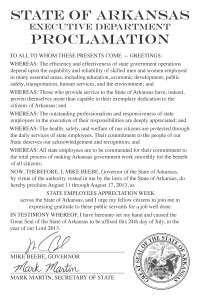60276 State Proclamation